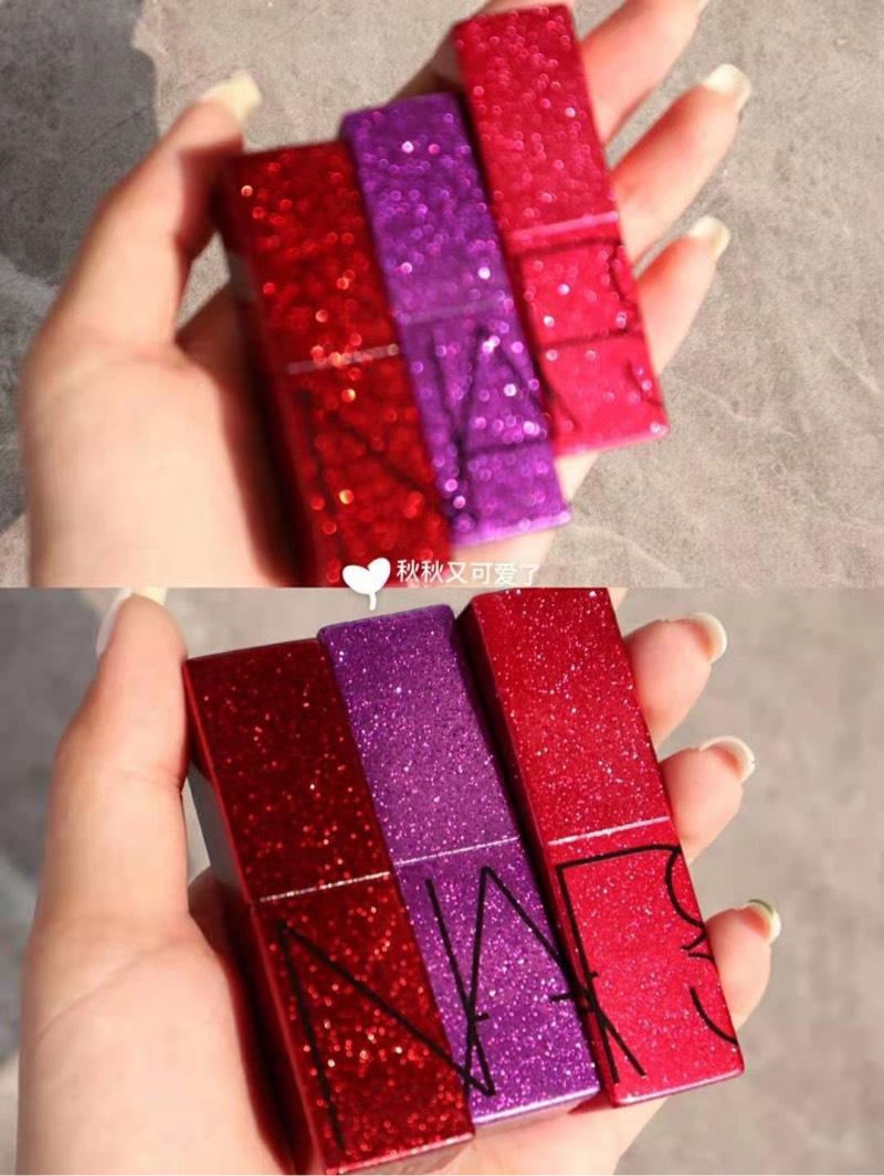 Spot Nars Christmas Limited Son môi 5013 Son môi kim cương Mona jerry Lisa - Son môi