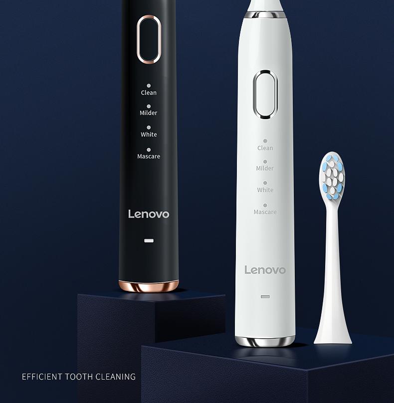 联想 充电式磁悬浮声波电动牙刷含杜邦刷头5个 图4
