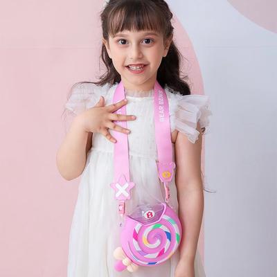 熊本士儿童吸管杯棒棒糖水杯女网红甜甜圈水壶学生可爱杯子夏季潮