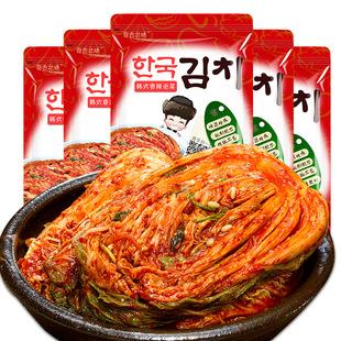 正宗韩国泡菜450g*5袋