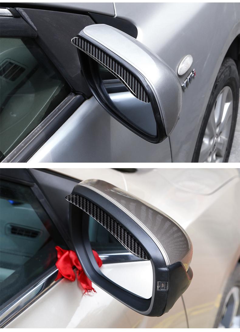 Vè che mưa gương chiếu hậu đen cacbon Mazda CX-8 2019 - ảnh 15