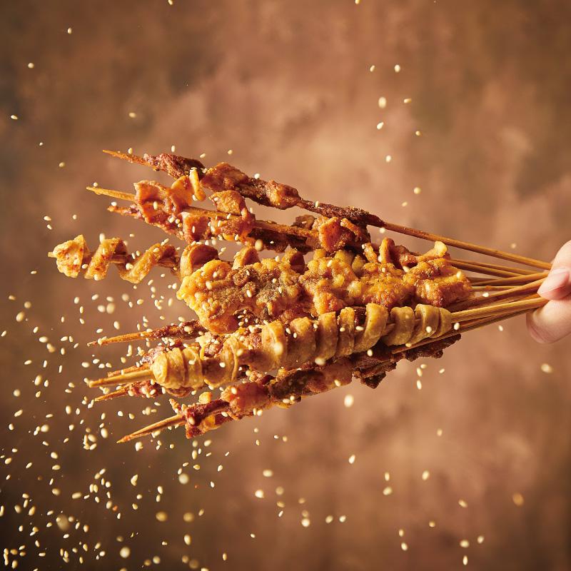 烧烤调料撒干料碟烤肉孜然粉腌料组合全套家用专用羊肉串蘸料商用