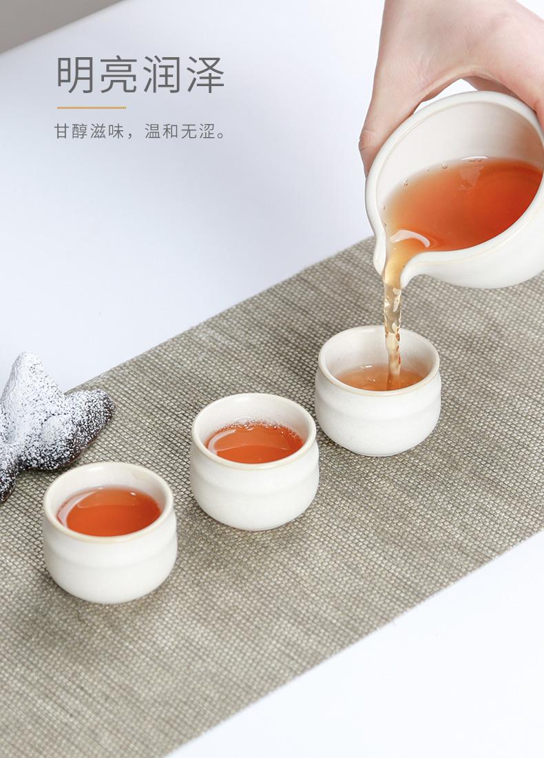 中茶黑茶湖南安化黑茶金花茯砖手工金茯中粮茶叶正品礼盒详细照片