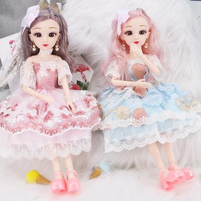 仿真换装大号布洋娃娃套装巴比玩具儿童超大礼盒女孩公主生日礼物