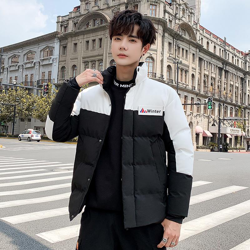 冬季新款棉衣男士韩版潮流宽松加厚短款外套学生羽绒棉服冬装棉袄