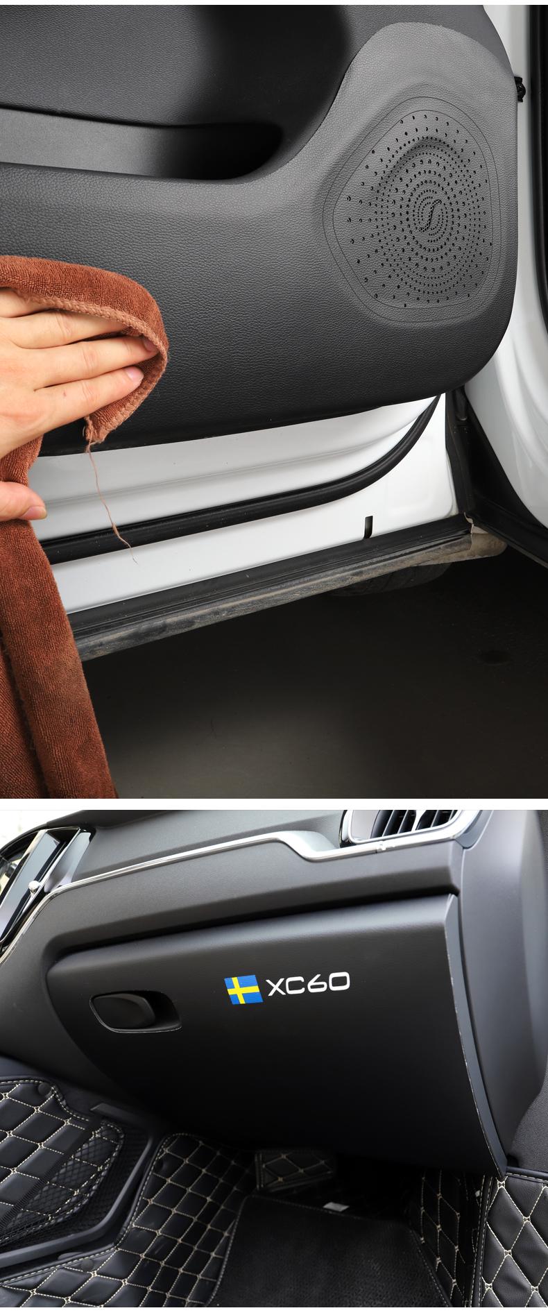 Miếng dán tapli và hộp đựng đồ xe Volvo XC60 2018 - 2020 - ảnh 10