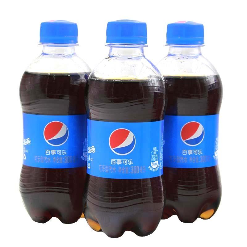 百事可乐美年达七喜300ml*6瓶