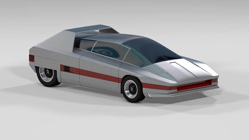 阿尔法罗密欧汽车C4D模型 MX723
