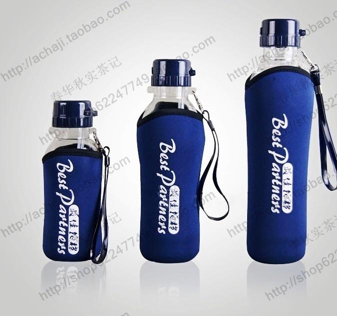 Бутылка спортивная Изоляция анти-ошпарить чаша действий партнера изоляции рукав путешествия ручной клади портативный спортивные бутылки элегантный чашки