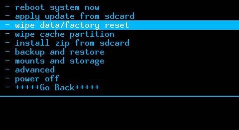 三星g3812卡刷刷机教程清空所有数据