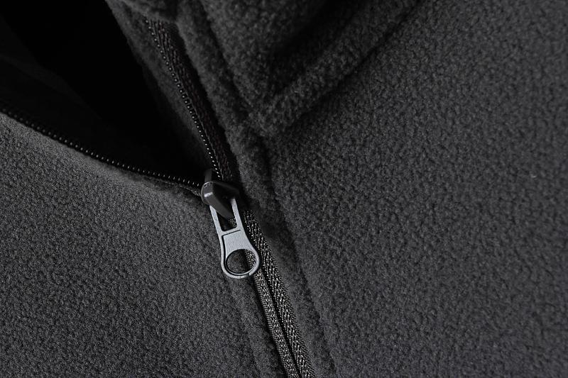 Foreign trade tail single autumn and winter outdoor men grab velvet collar semi-zipper warm beat bottom long-sleeved sweater grab velvet clothing 31 Online shopping Bangladesh