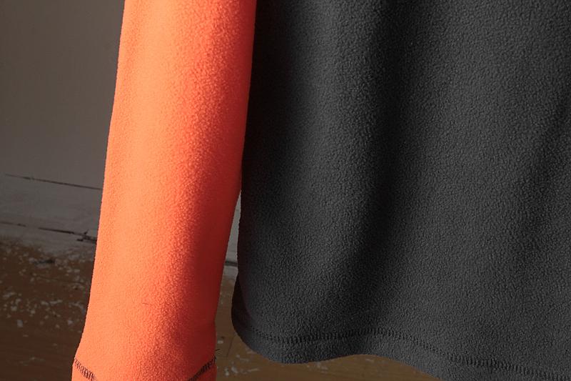 Foreign trade tail single autumn and winter outdoor men grab velvet collar semi-zipper warm beat bottom long-sleeved sweater grab velvet clothing 33 Online shopping Bangladesh