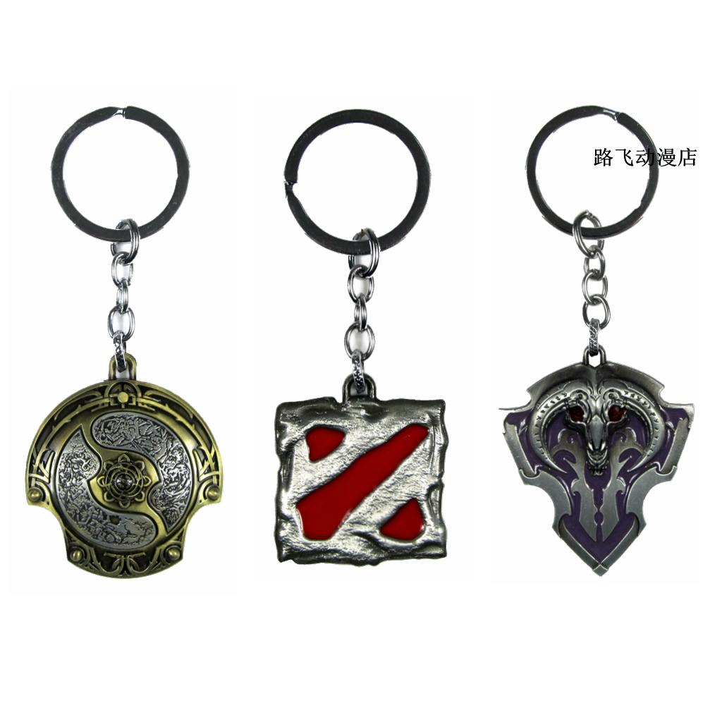 刀塔DOTA2挂件挂饰不朽盾周边游戏暴雪男书包钥匙扣金属先锋吊饰
