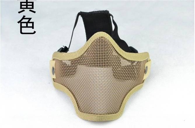 маска cm01 с усиленной стальной/стальной сетки пол-лица защитите передач маска гвардии/маска череп