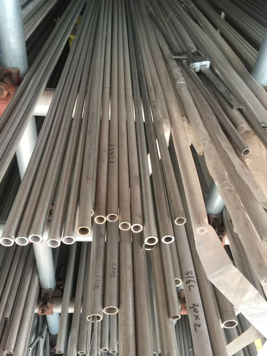 304 stainless steel pipe outer diameter 6mm wall thickness 1mm polished  pipe industrial pipe capillary one meter