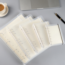 Notebook small refreshing Notepad a4a5a6a7 loose leaf folder shell
