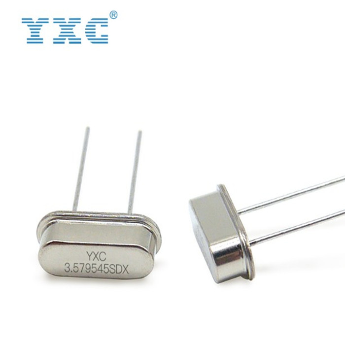 QUARTZ CRYSTAL 3 6864MHZ HC-49US 20PF 20PPM FREQUENCY ELEMENT YXC brand frequency ELEMENT