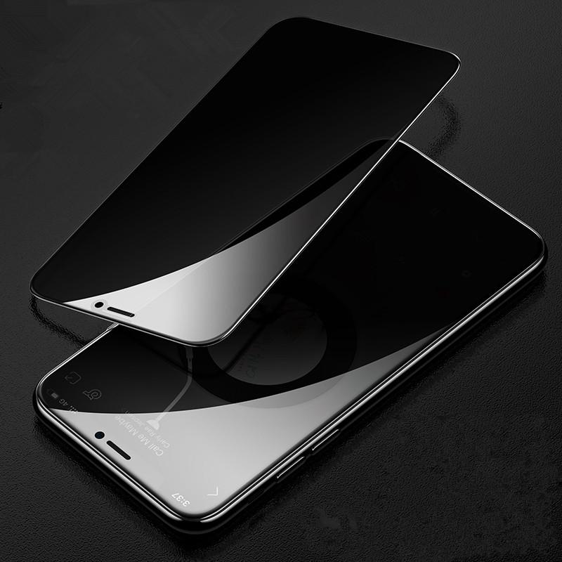 iPhone11钢化膜12Pro Max防偷窥膜苹果X防窥XR全屏7/8plus防窥膜iPhoneXR/XsMax防偷窥12mini防偷窃p窥手机膜