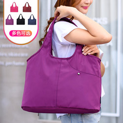 Multifunctional nylon shoulder bag, big bag, waterproof Oxford female bag, lightweight mummy bag, large capacity handbag, underarm bag