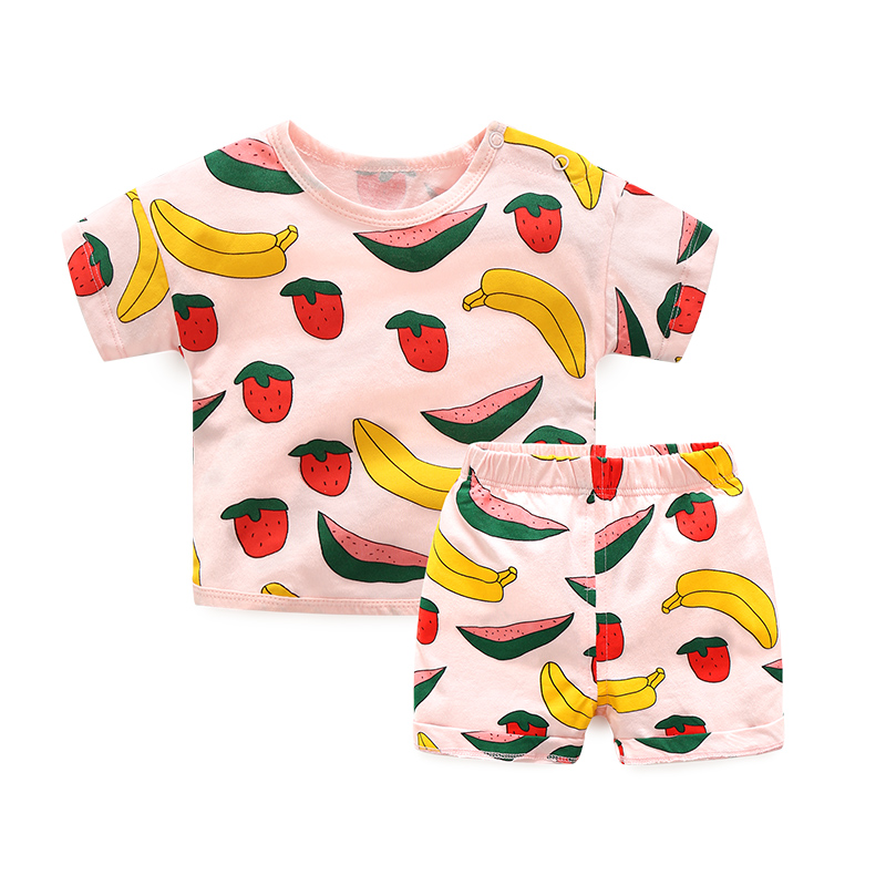 Singapore Female Baby Suit Summer Male Baby 3 Casual Clothes 3 A