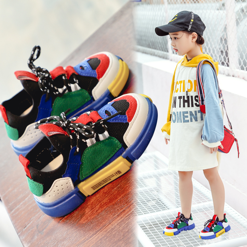 86cb077778ade Boys shoes 2018 New children s shoes summer net shoes breathable  enlightenment Shoes baby sneakers autumn girls shoes