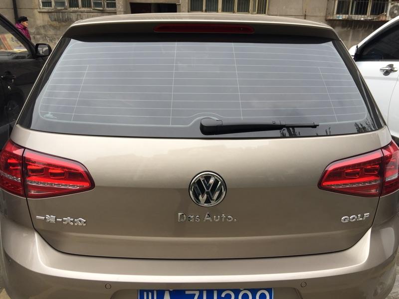 大众dasauto车贴 高尔夫宝来cc车标贴迈腾凌渡途安尾标改装字母贴