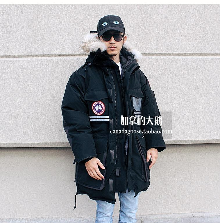 912d1e35b306 ... coupon code for canada goose snow mantra mens goose down adventure down  jacket. zoom lightbox ...