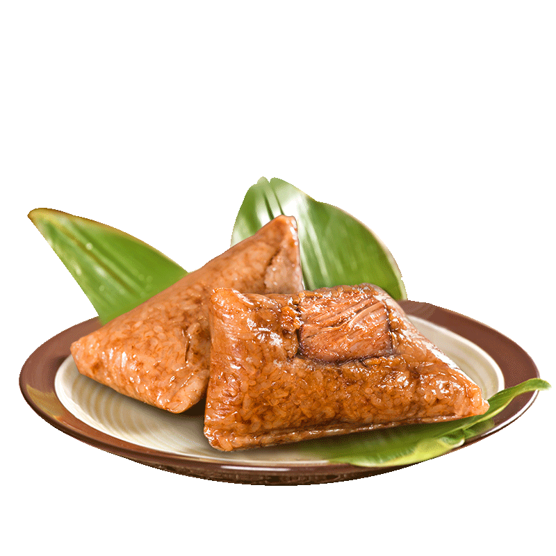 知味观粽子端午速食早餐嘉兴肉粽大礼包新鲜即食鲜肉粽杭州特产