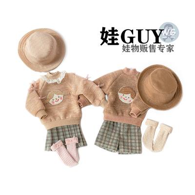 taobao agent Baby GUY bjd6 points male and female doll clothes blythe cloth shorts fisherman hat full of vitality outing clothes