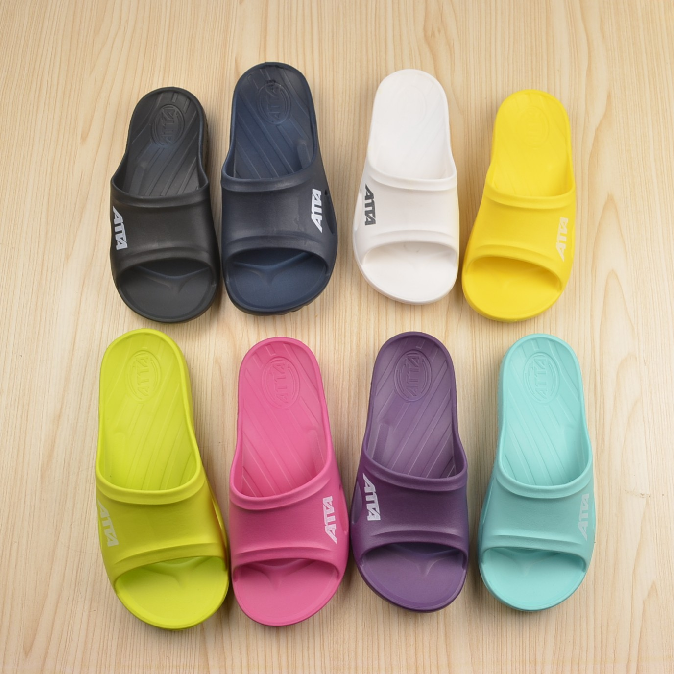8f07902ebef6 Authentic ATTA Taiwan men and women couples non-slip soft bottom bath home  slippers one thick bottom bathroom shower slippers