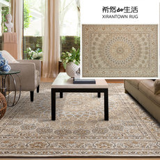 Washable woven carpet living room Nordic American retro Persian home bedroom room bedside coffee table mat