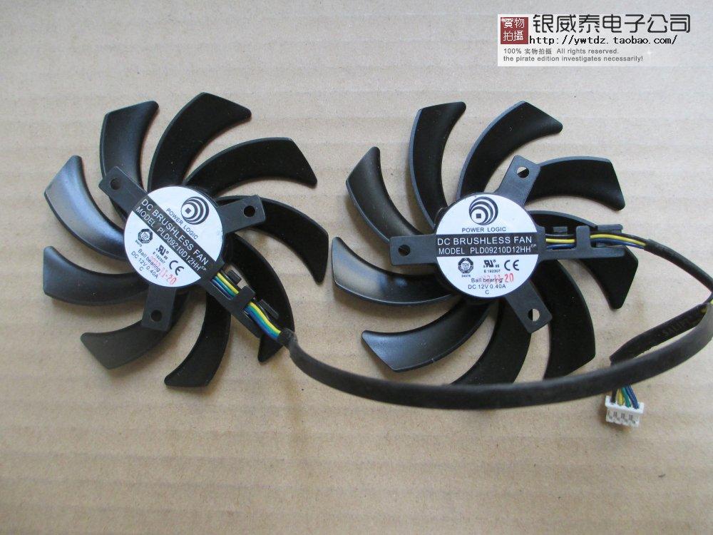 全新风扇正品迪兰R9280X3G原装温控双显卡PLD0921009210DD1212HH