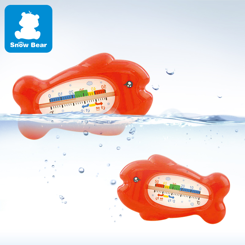 USD 11.44] Little White Bear flagship store fish water Thermometer ...