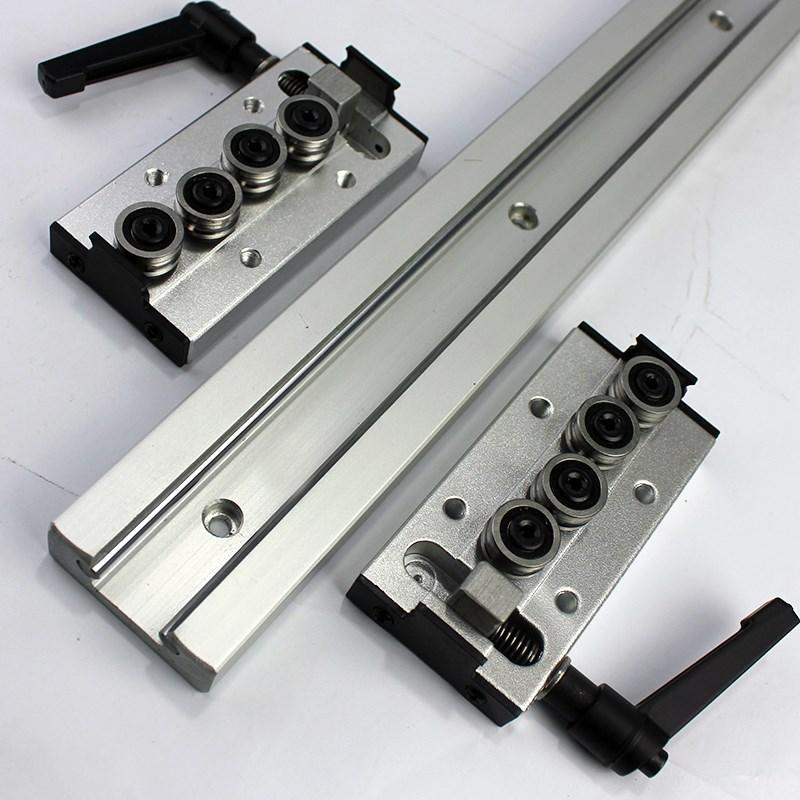 锁紧内置双轴心直线导轨SGR10 15N 20 25 35滑块光轴滑轨摄影器材 (图9)