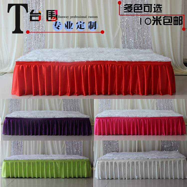 Usd 5 15 Wedding Props T Taiwan Skirt Cloth T Tablecloth Wai