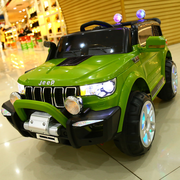 Children S Electric Car Four Wheel Remote Control Car Can Sit People