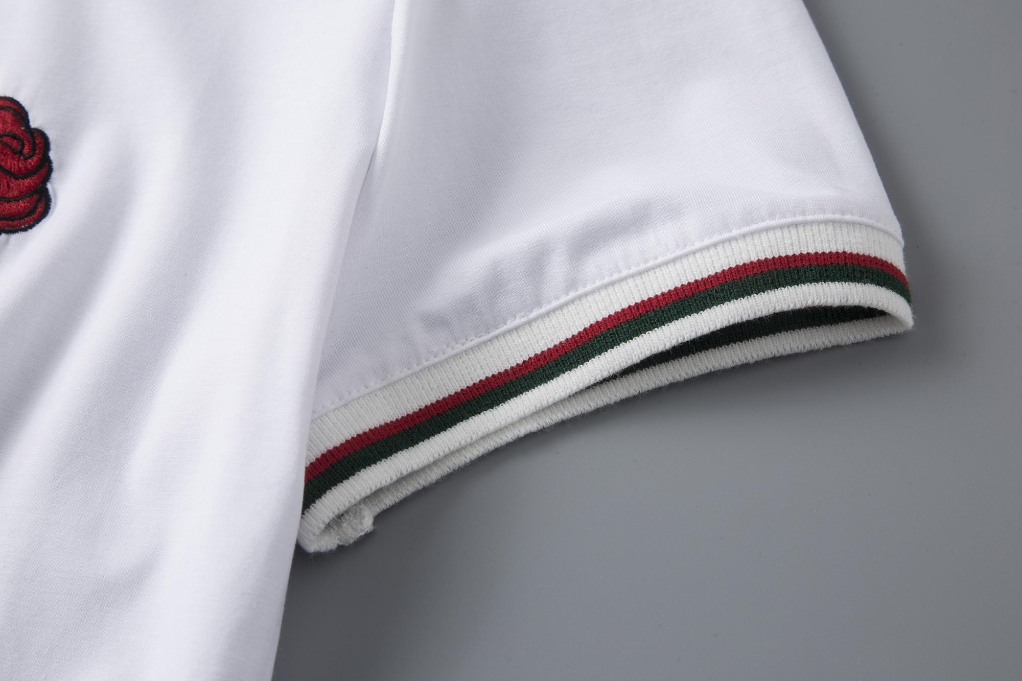 A274/C8836#2019夏季新款 品质轻奢丝光棉夏装T恤短袖厂家让利P40