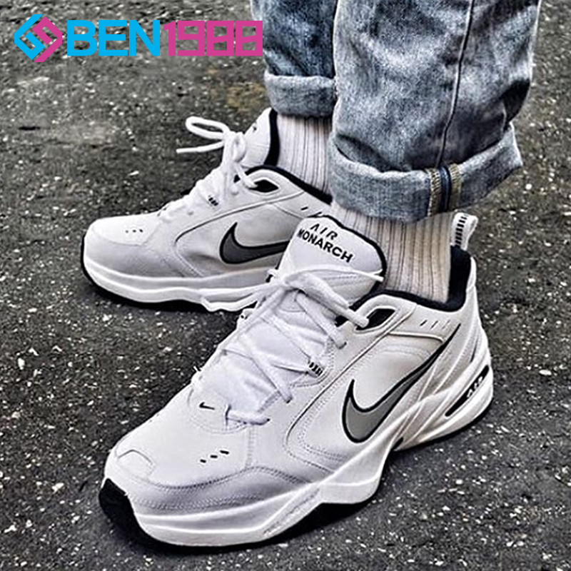 new concept 868cc 946a2 Nike old shoes men Nike Air Monarch IV M2K Tekno super fire retro running  shoes 415445