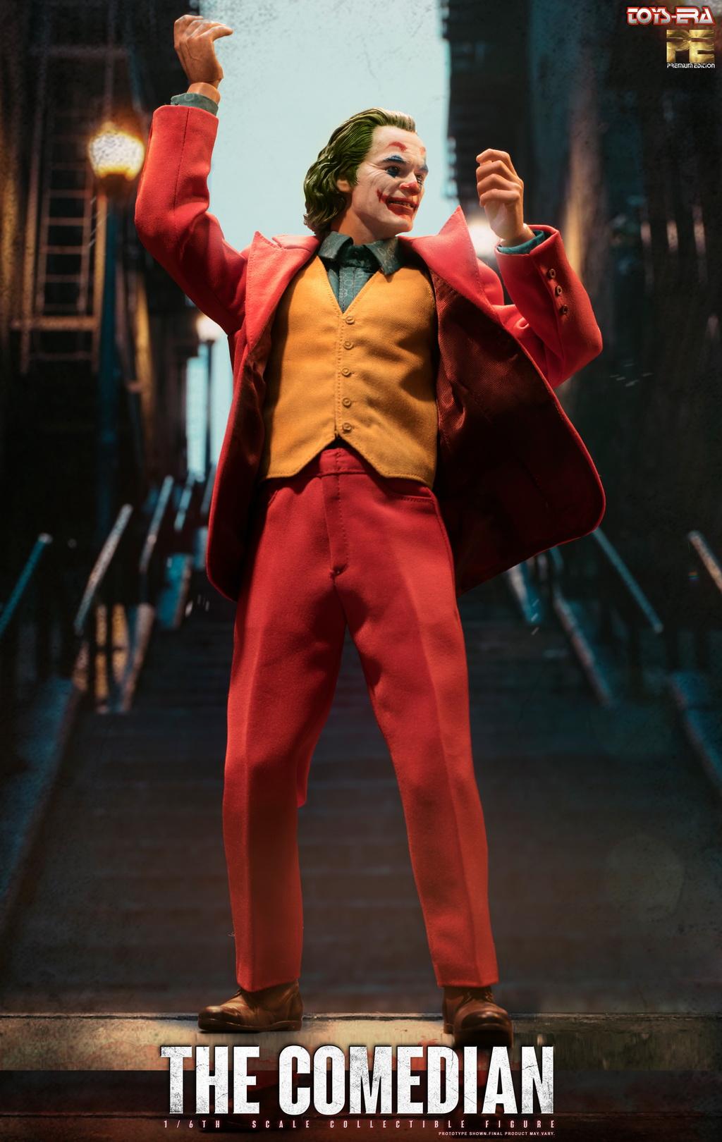 1//6 Arthur Fleck Joker Toys Era PE004 Hot Comedian Humorist Joaquin Phoenix
