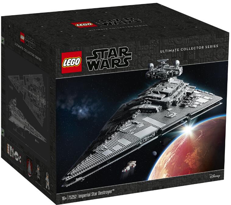 LEGO 乐高 UCS 收藏家系列 星球大战系列 75252 帝国歼星舰 积木玩具 ¥3724.4