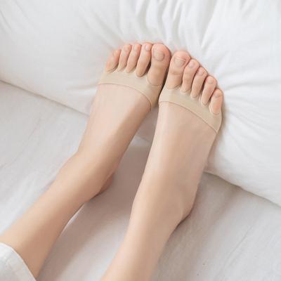 五指袜半截袜子女前脚掌分趾袜套高跟凉鞋夏天薄款隐形拖鞋半掌袜