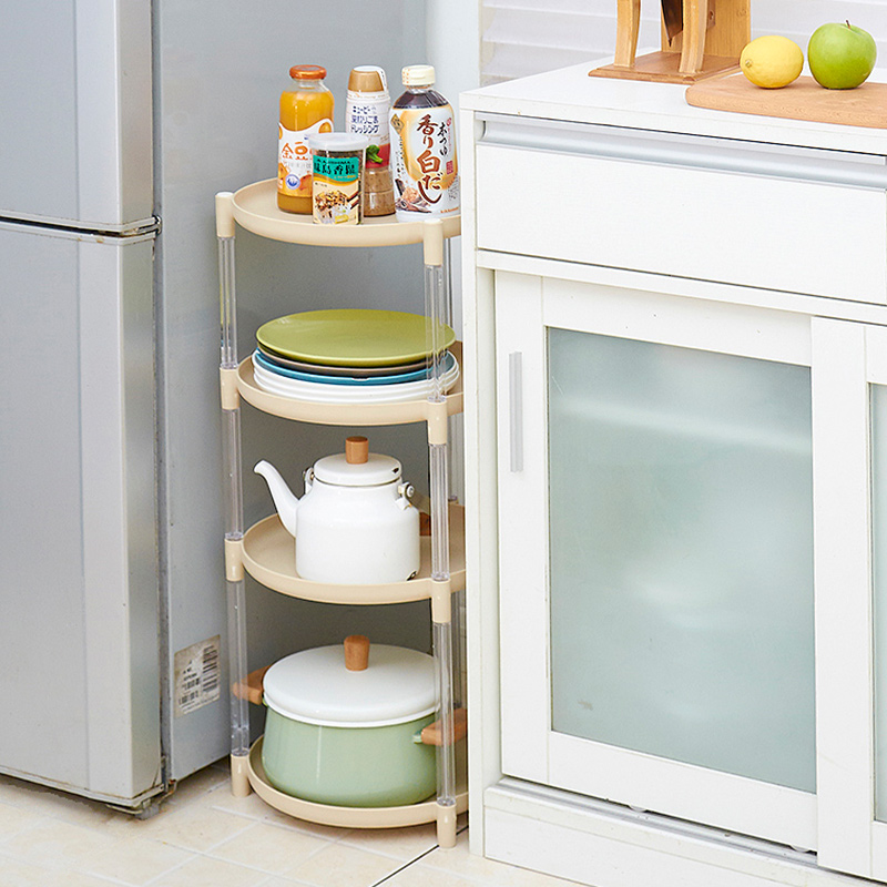Round Pot Rack Floor Multi Layer