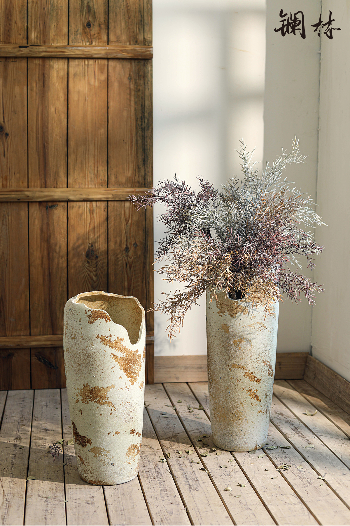 Chinese ceramic restoring ancient ways of large vase abnormity expressions using dry flower arranging flowers flesh POTS to the sitting room decorate ceramic furnishing articles
