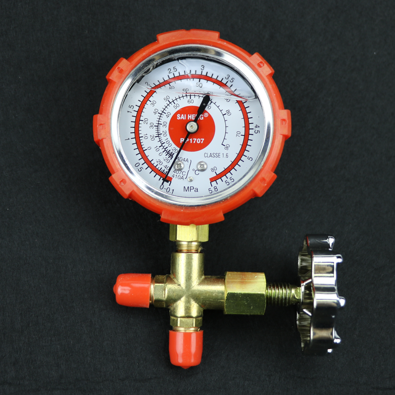 Air conditioning pressure protection pressure table inverter R410A  refrigerant table plus hydraulic pressure gauge pressure gauge R22 r134A  single
