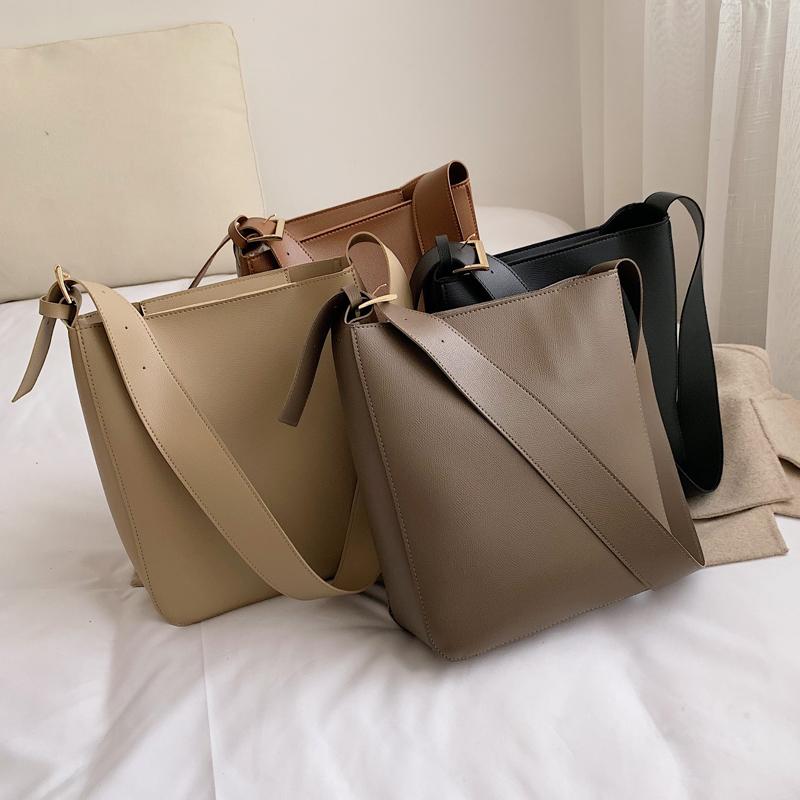 Продвинутый смысл западный стиль сумки 2019 новый волна корейский дикий сумка просто мода сумку ведро пакет 606879945275