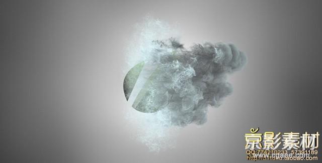 AE模板-唯美粒子logo标志展示片头 Beauty Particles Logo Reveal