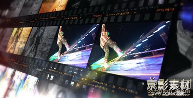 AE模板-触摸时尚图片视频展示片头 inTouch