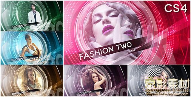AE模板-时尚人物特写宣传展示片头 Fashion Two