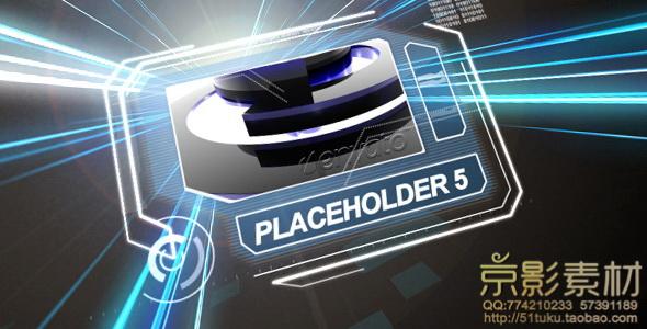 AE模板-多彩强光展示动画片头 ProTron
