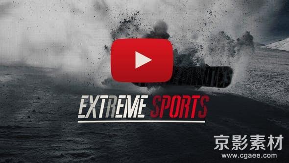 AE模板-极限运动宣传展示片头 Sport Trailer 21436194